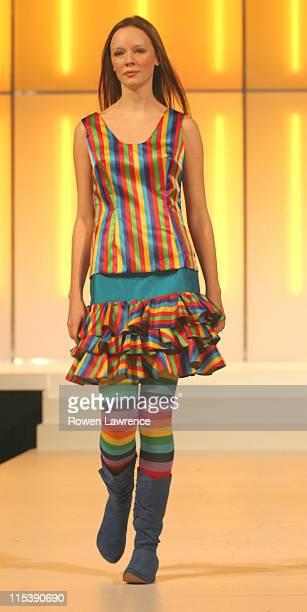 Model during 2003 Clotheshow Live at Birmingham NEC in Birmingham, Great Britain.