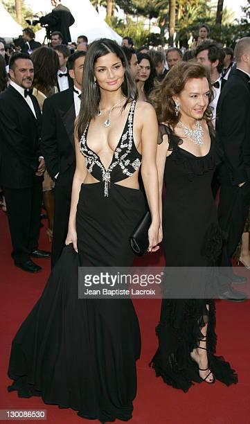Model during 2005 Cannes Film Festival Peindre Ou Faire L'Amour Premiere at Le Palais de Festival in Cannes France