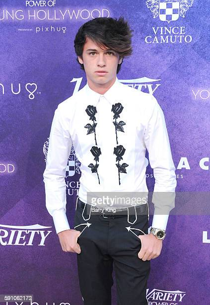 Model Dylan Jagger Lee attends Variety's Power of Young Hollywood event presented by Pixhug with platinum sponsor Vince Camuto at NeueHouse Hollywood...