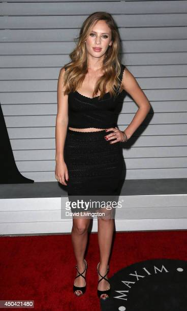 Model Dylan Penn attends the Maxim Hot 100 event at the Pacific Design Center on June 10 2014 in West Hollywood California