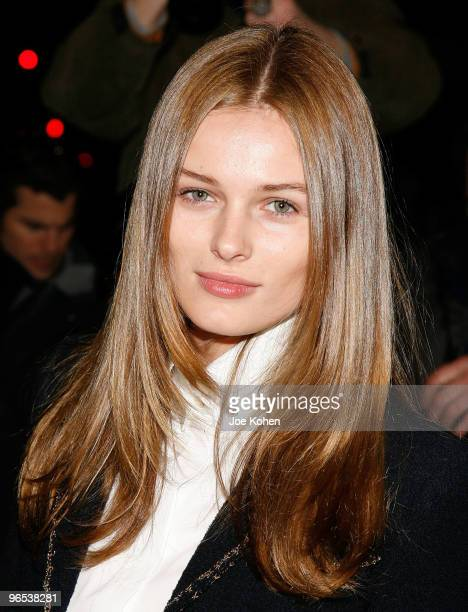 Model Edita Vilkeviciute attends the Chanel Rouge Coco Dinner at The Mark Hotel on February 9 2010 in New York City