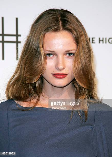 Model Edita Vilkeviciute attends the First Party on the High Line at High Line Park on June 15 2009 in New York City