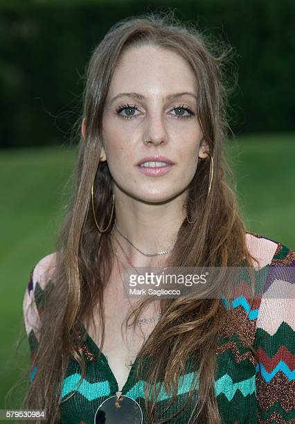 Model Eleanor Lambert attends Armarium's Missoni Launch With Ottavio Missoni at the home of Marigay McKee and Bill Ford on July 23 2016 in...