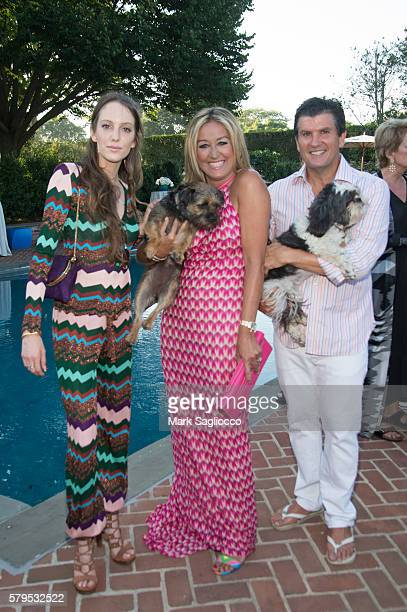 Model Eleanor Lambert Marigay McKee and Bill Ford attend Armarium's Missoni Launch With Ottavio Missoni at the home of Marigay McKee and Bill Ford on...