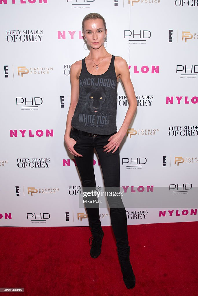 "Nylon and Fashion Police's ""Fifty Shades Of Grey"" Release Party : News Photo"