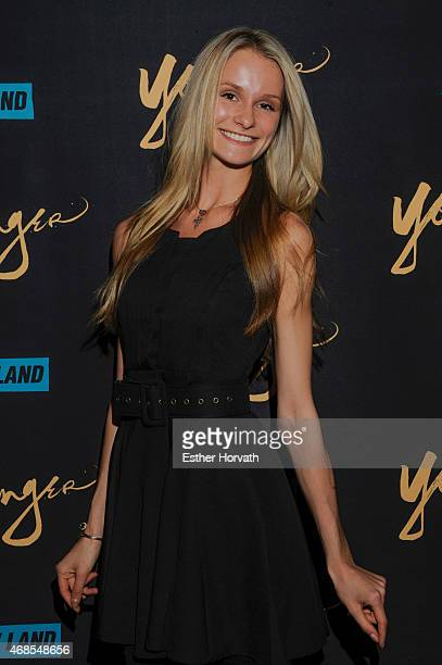 Model Elena Kurnosova attends the premiere of TV Land's Younger at Landmark Sunshine Cinema on March 31 2015 in New York City