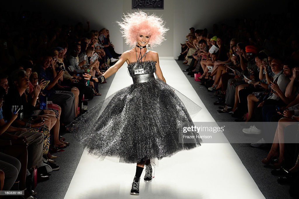 Betsey Johnson - Runway - Mercedes-Benz Fashion Week Spring 2014 : News Photo