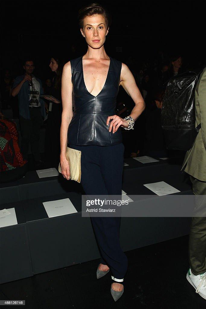 Prabal Gurung - Front Row - Spring 2016 New York Fashion Week: The Shows