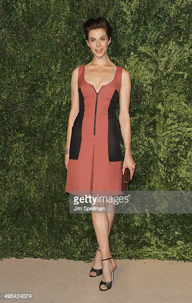 Model Elettra Rossellini Wiedemann attends the 12th annual CFDA/Vogue Fashion Fund Awards at Spring Studios on November 2 2015 in New York City