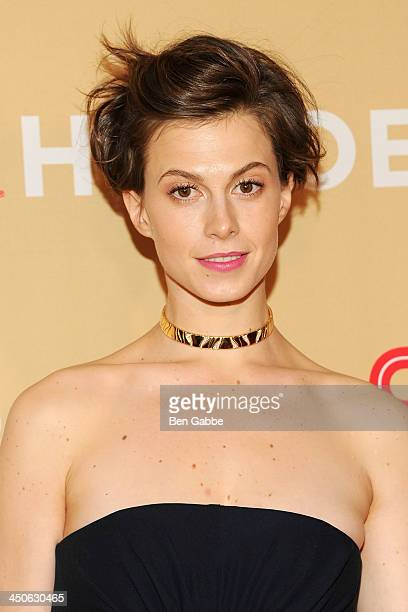 Model Elettra Wiedemann attends the 2013 CNN Heroes at the American Museum of Natural History on November 19 2013 in New York City