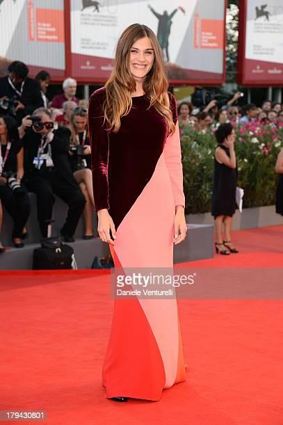 Model Elisa Sednaoui attends 'Under The Skin' Premiere during the 70th Venice International Film Festival at Sala Grande on September 3 2013 in...