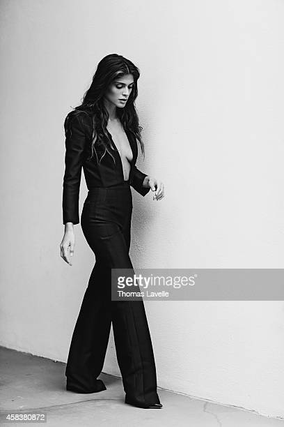 Model Elisa Sednaoui is photographed for Marie Claire Russia on September 19, 2014 in Milan, Italy.