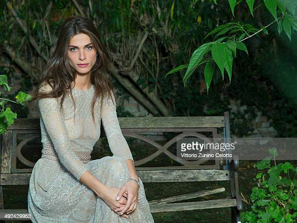 Model Elisa Sednaoui is photographed for Self Assignment on September 10 2015 in Venice Italy Dress Watch