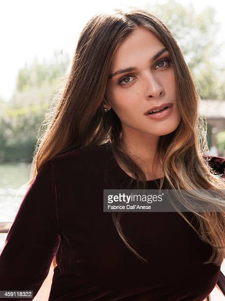 Model Elisa Sednaoui is photographed for Vanity Fair Italy on September 1 2013 in Venice Italy