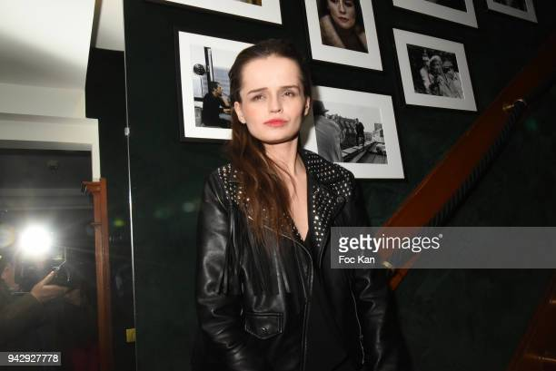 Model Elisabeh Oros attends the the Nicolas Mereau Birthday Party At Club 13 on April 6 2018 in Paris France