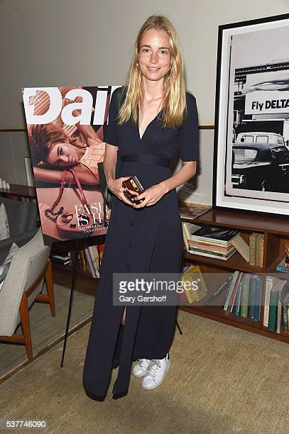 Model Elise Aarnink attends the The Daily's Summer premiere party at the Smyth Hotel on June 2 2016 in New York City