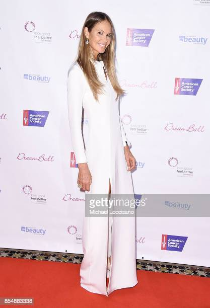 Model Elle Macpherson attends the 2017 DreamBall To Benefit Look Good Feel Better at Cipriani 42nd Street on September 27 2017 in New York City