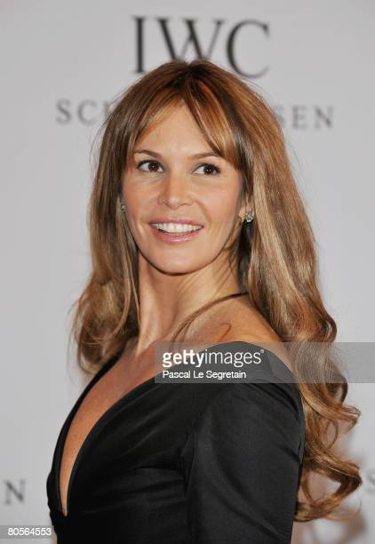 Model Elle Macpherson attends 'The Crossing' gala event hosted by IWC Schaffhausen held at the Geneva Palaexpo on April 8, 2008 in Geneva,...