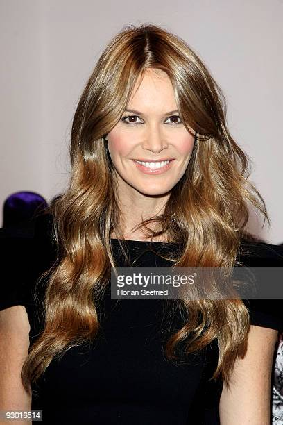 Model Elle Macpherson attends the European launch of 'ELLE MACPHERSON INTIMATES' at gallery Morgen Berlin on November 12, 2009 in Berlin, Germany.