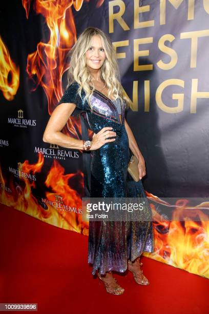 Model Elle Macpherson attends the Remus Lifestyle Night on August 2 2018 in Palma de Mallorca Spain