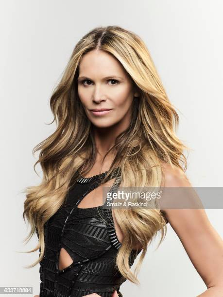 Model Elle Macpherson is photographed for The Hollywood Reporter on January 6 2012 in Los Angeles California