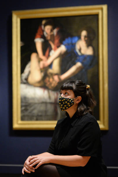 """GBR: """"Artemisia"""" Exhibition At The National Gallery - Press View"""