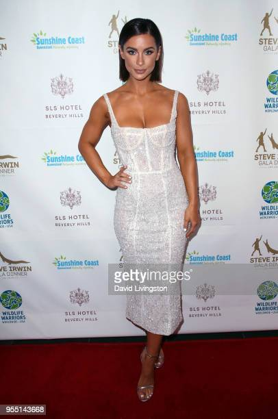 Model Ellie Gonsalves attends the Steve Irwin Gala Dinner 2018 at SLS Hotel on May 5 2018 in Beverly Hills California