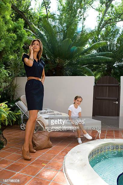 Model Elsa Benitez poses at a fashion shoot for Easy Living on November 5 2007 in Miami Florida PUBLISHED IMAGE