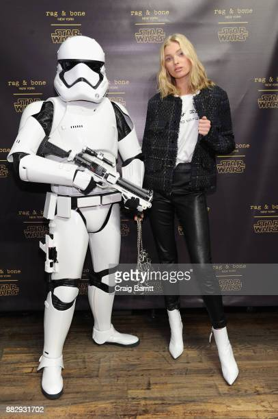 Model Elsa Hosk attends as rag bone and Disney celebrate the launch of the rag bone X Star Wars Collection on November 29 2017 in New York City