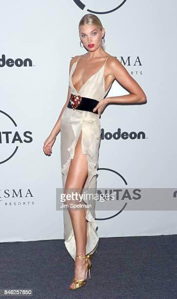 Model Elsa Hosk attends the 2017 Unitas Gala at Capitale on September 12 2017 in New York City