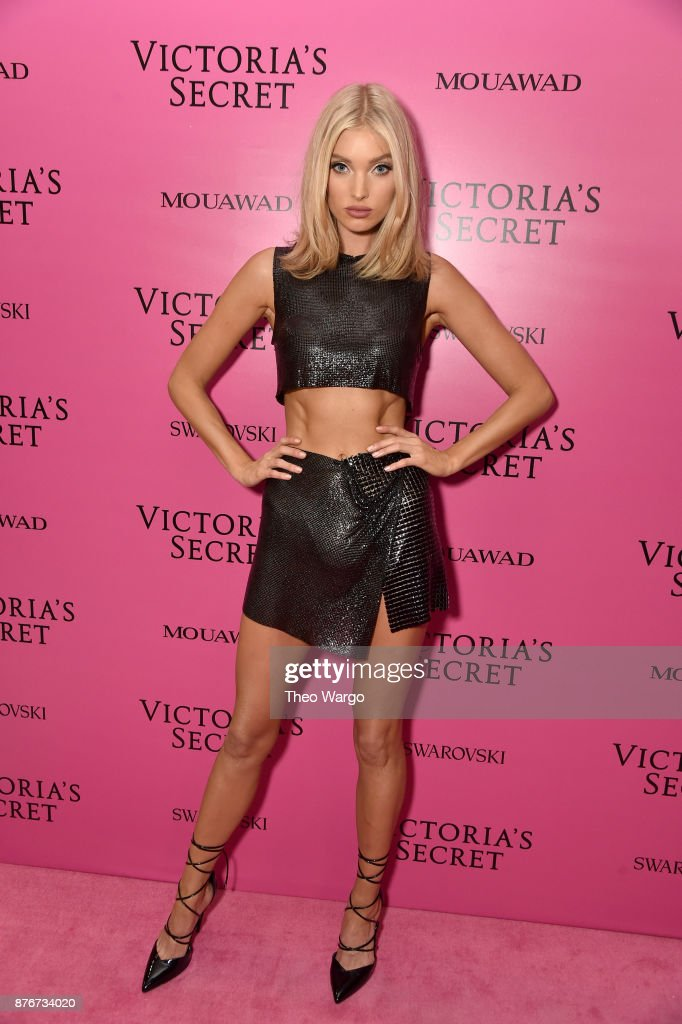 Model Elsa Hosk attends the 2017 Victoria's Secret Fashion Show In Shanghai After Party at Mercedes-Benz Arena on November 20, 2017 in Shanghai, China.