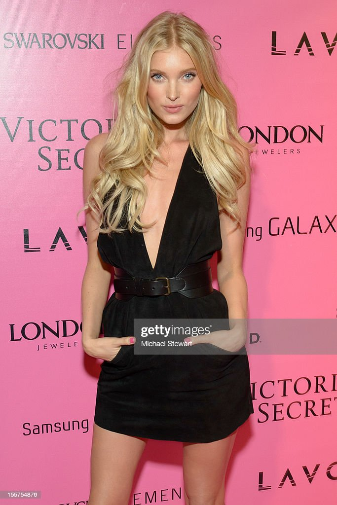 Model Elsa Hosk attends the after party for the 2012 Victoria's Secret Fashion Show at Lavo NYC on November 7, 2012 in New York City.