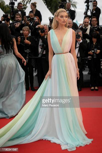 Model Elsa Hosk attends the screening of A Hidden Life during the 72nd annual Cannes Film Festival on May 19 2019 in Cannes France