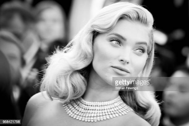 Model Elsa Hosk attends the screening of 'Girls Of The Sun ' during the 71st annual Cannes Film Festival on May 12 2018 in Cannes France