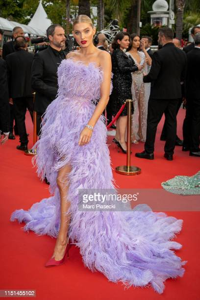 """Model Elsa Hosk attends the screening of """"Sibyl"""" during the 72nd annual Cannes Film Festival on May 24, 2019 in Cannes, France."""