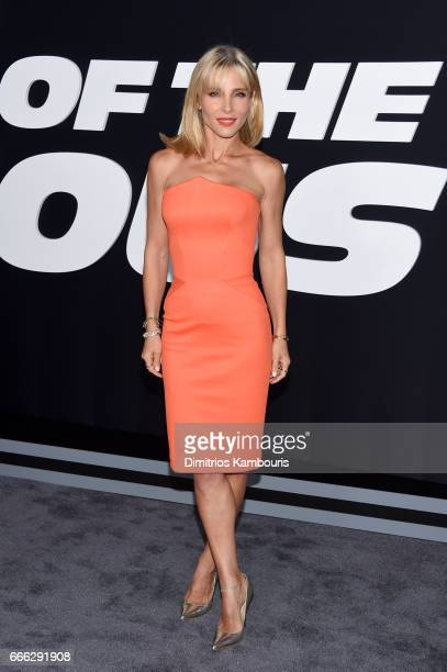 Model Elsa Pataky attends 'The Fate Of The Furious' New York Premiere at Radio City Music Hall on April 8 2017 in New York City