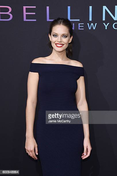 Model Emily DiDonato attends the Maybelline New York NYFW KickOff Party on September 8 2016 in New York City