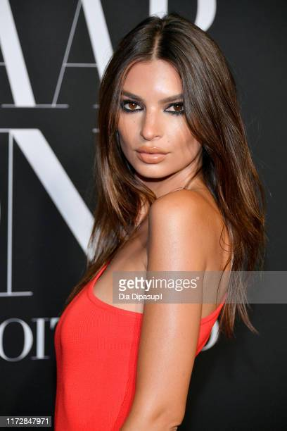 Model Emily Ratajkowski attends the 2019 Harper's Bazaar ICONS on September 06, 2019 in New York City.