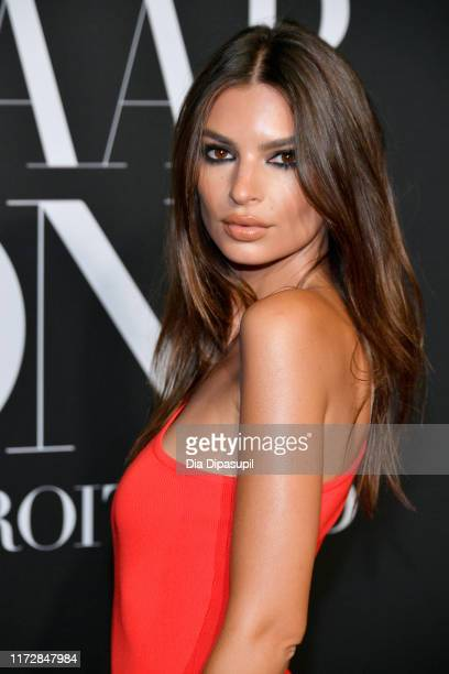 Model Emily Ratajkowski attends the 2019 Harper's Bazaar ICONS on September 06 2019 in New York City