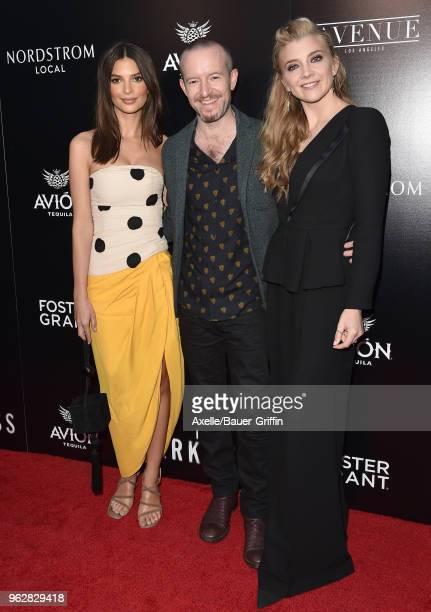 Model Emily Ratajkowski director Anthony Byrne and actress Natalie Dormer attend the premiere of Vertical Entertainment's 'In Darkness' at ArcLight...