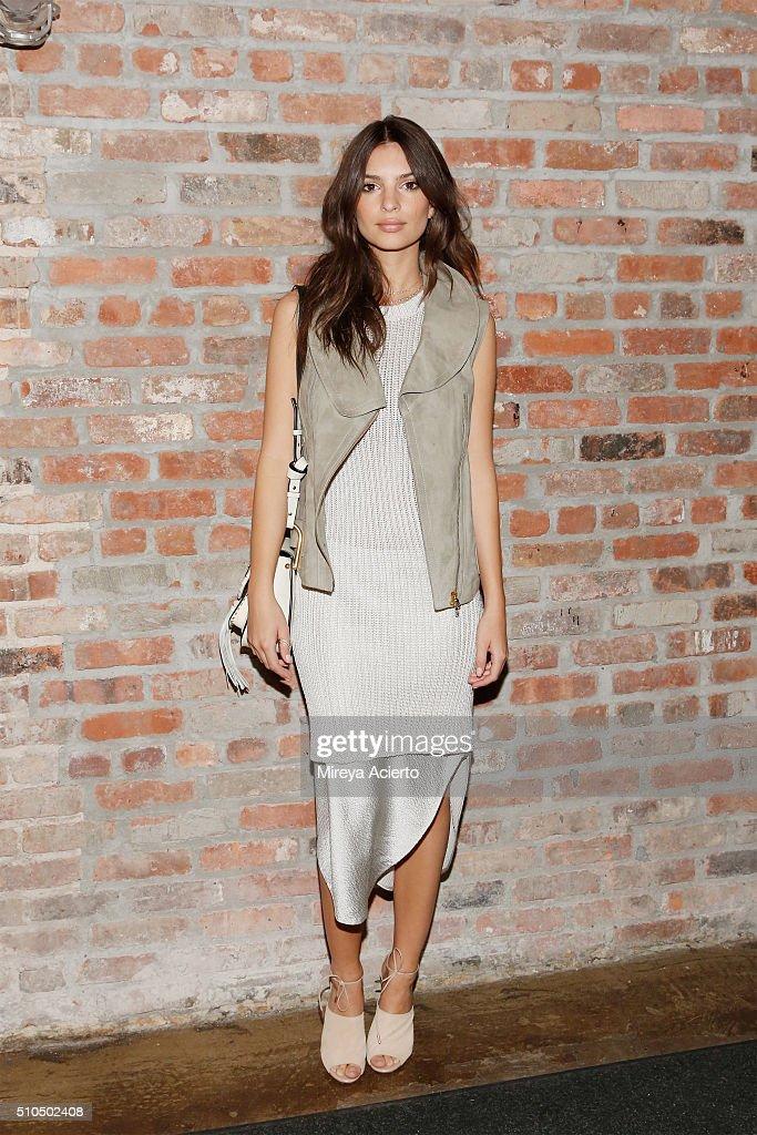 Maiyet - Backstage - Fall 2016 New York Fashion Week
