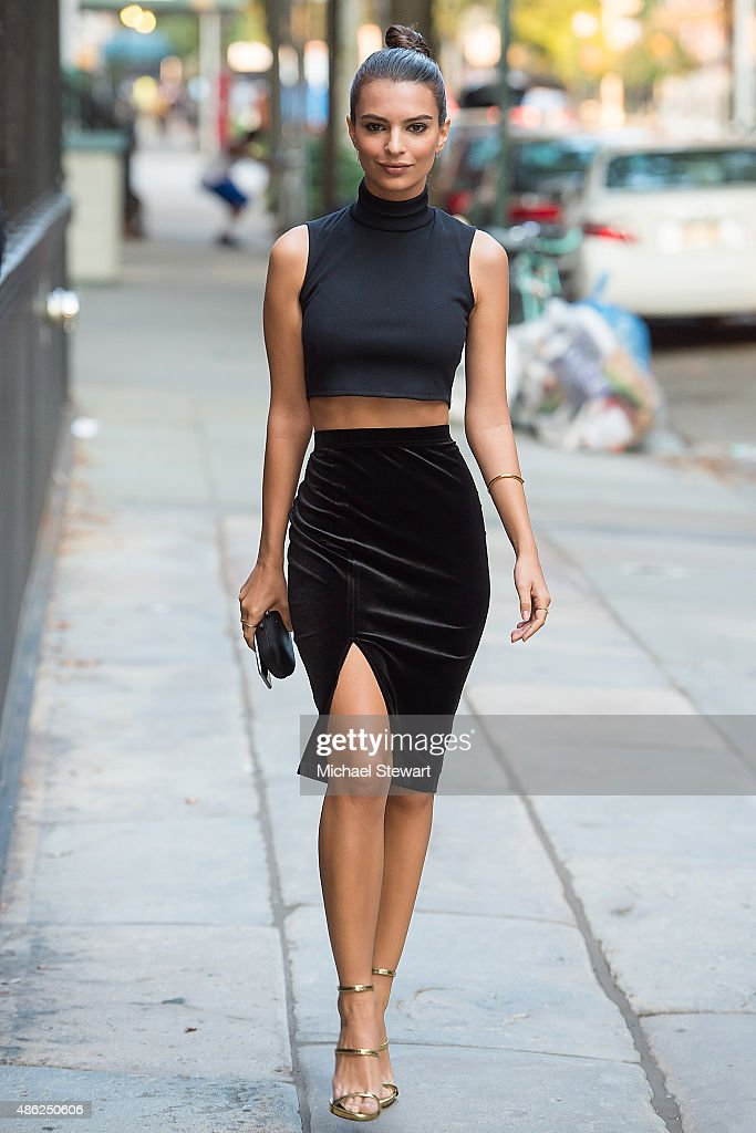 Celebrity Sightings In New York City - September 02, 2015