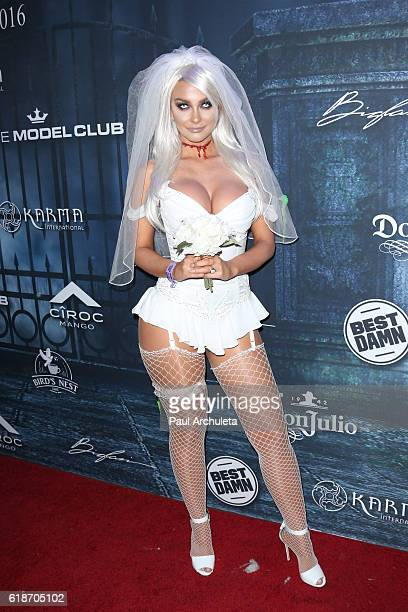 3d778c3469f65 Model Emily Sears attends Maxim Magazine s annual Halloween party on  October 22 2016 in Los Angeles