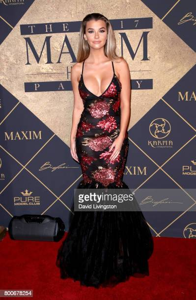 Model Emily Sears attends The 2017 MAXIM Hot 100 Party produced by Karma International at The Hollywood Palladium in celebration of MAXIMÕs Hot 100...