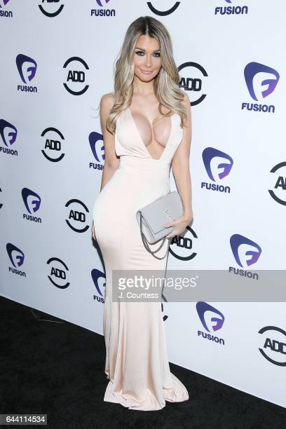 Model Emily Sears attends the 2nd Annual All Def Movie Awards at the Belasco Theatre on February 22 2017 in Los Angeles California