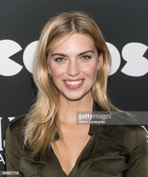 Model Emily Senko attends the 'Colossal' premiere at AMC Lincoln Square Theater on March 28 2017 in New York City