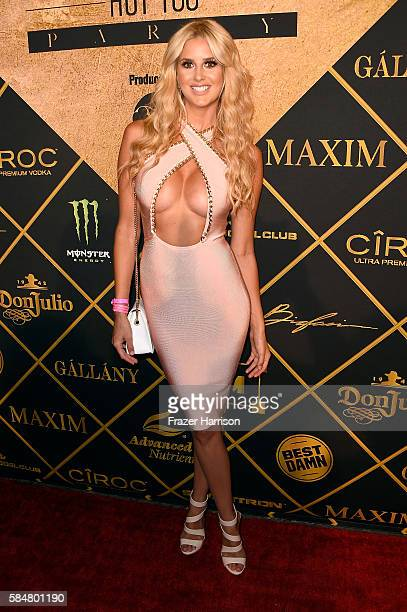 Model Emma Herman attends the 2016 MAXIM Hot 100 Party at the Hollywood Palladium on July 30 2016 in Los Angeles California