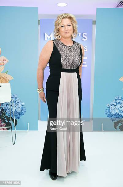 Model Emme attends a plussize fashion show at Macy's Herald Square on March 26 2015 in New York City