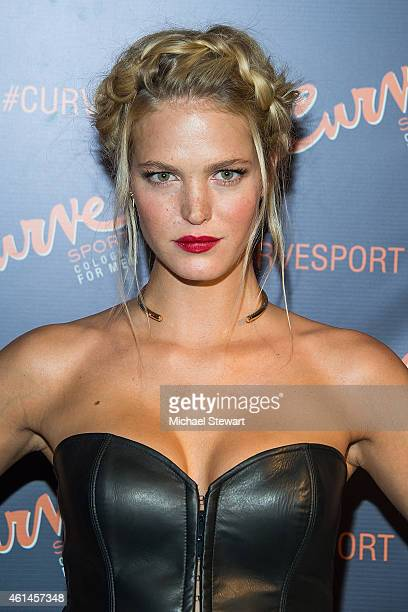 Model Erin Heatherton attends the Curve Sport Launch at Arthur Lounge at The Chester on January 12 2015 in New York City