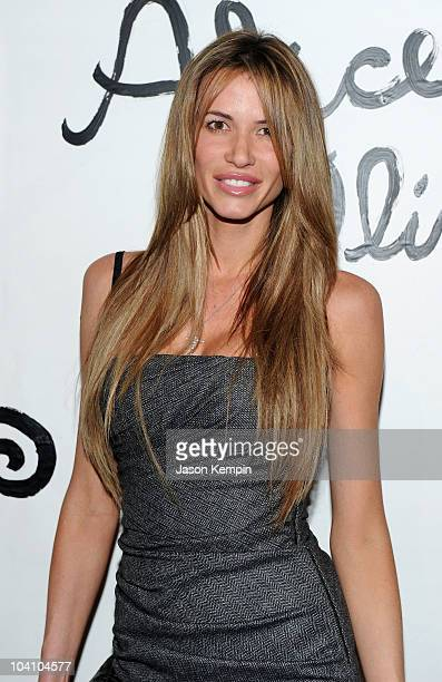 Model Erin Naas attends the Alice Olivia Spring 2011 presentation during MercedesBenz Fashion Week at 547 West 26th Street on September 14 2010 in...